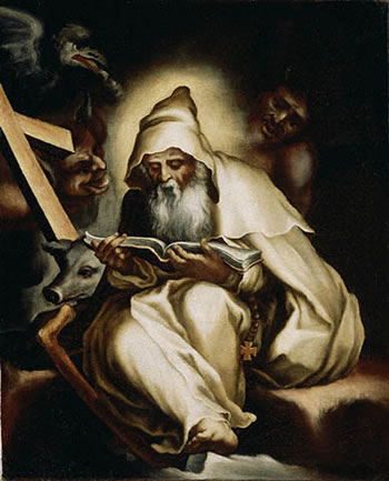 St. Anthony by Lilio Orsi