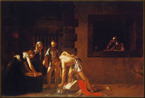 Decapitation by Caravaggio