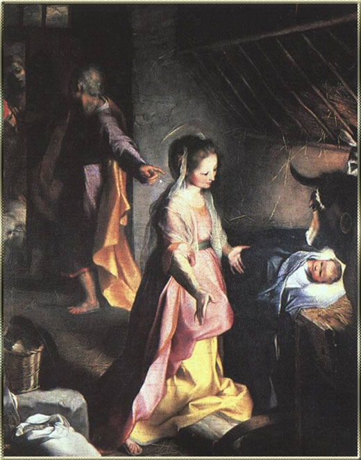 Nativity by Barocci
