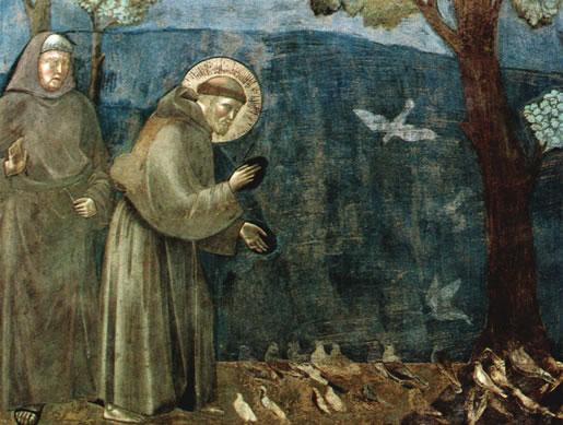 St. Francis and the Birds